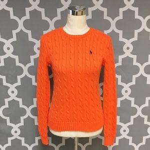 Ralph Lauren Cable Knit Sweater 7J